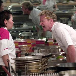 Tension in the kitchen - Gordon Ramsay