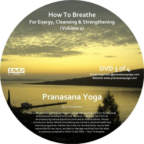 How to Breathe for Energy Cleansing and Strengthening dvd