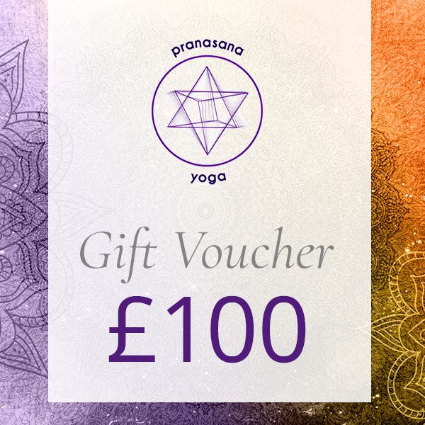 pranasana yoga gift voucher 100